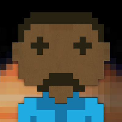 Lando Calrissian in blue shirt on Bespin with mustache